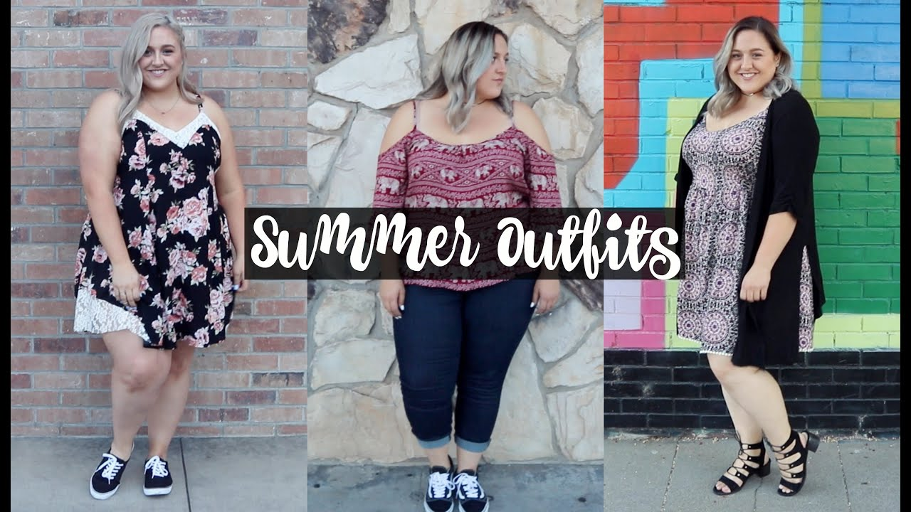 Plus Size Summer Outfit