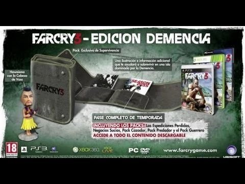 Far Cry 3 Unboxing (Edición Demencia)