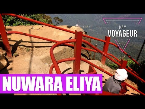 Nuwara Eliya (Sri Lanka) : tourist guide in english - video guide tour in 4K