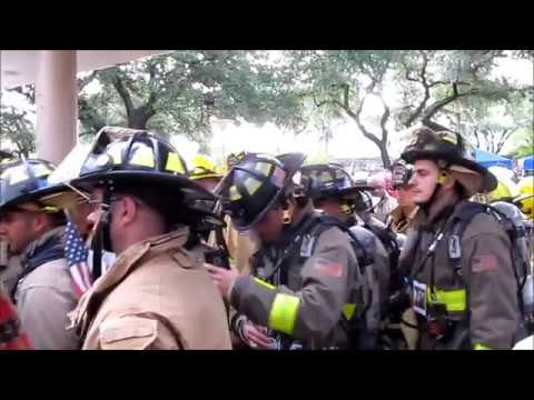 9/11 Memorial Tower Climb in San Antonio- 110 floors