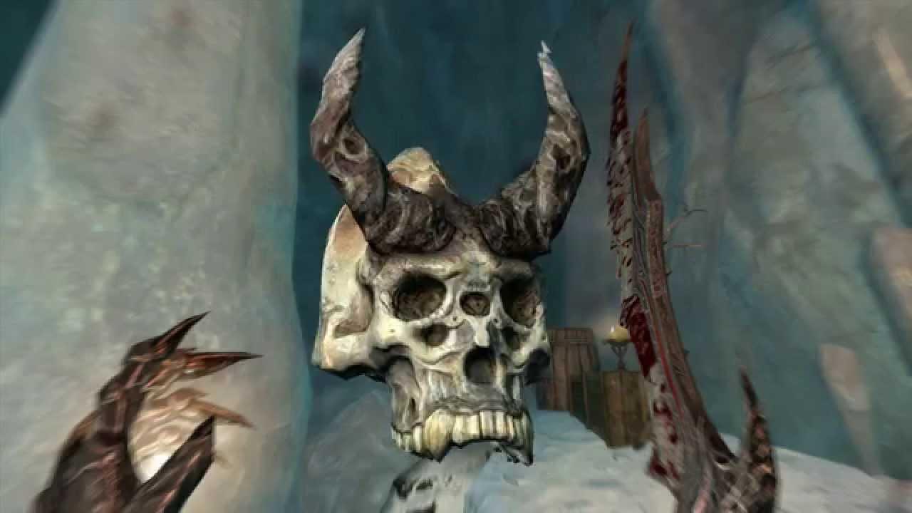 Skyrim - Karstaag's Skull - LOCATION