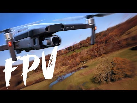 FPV Drone Effect with DJI Mavic 2 Pro  - TESTED  - Is It Any Good?