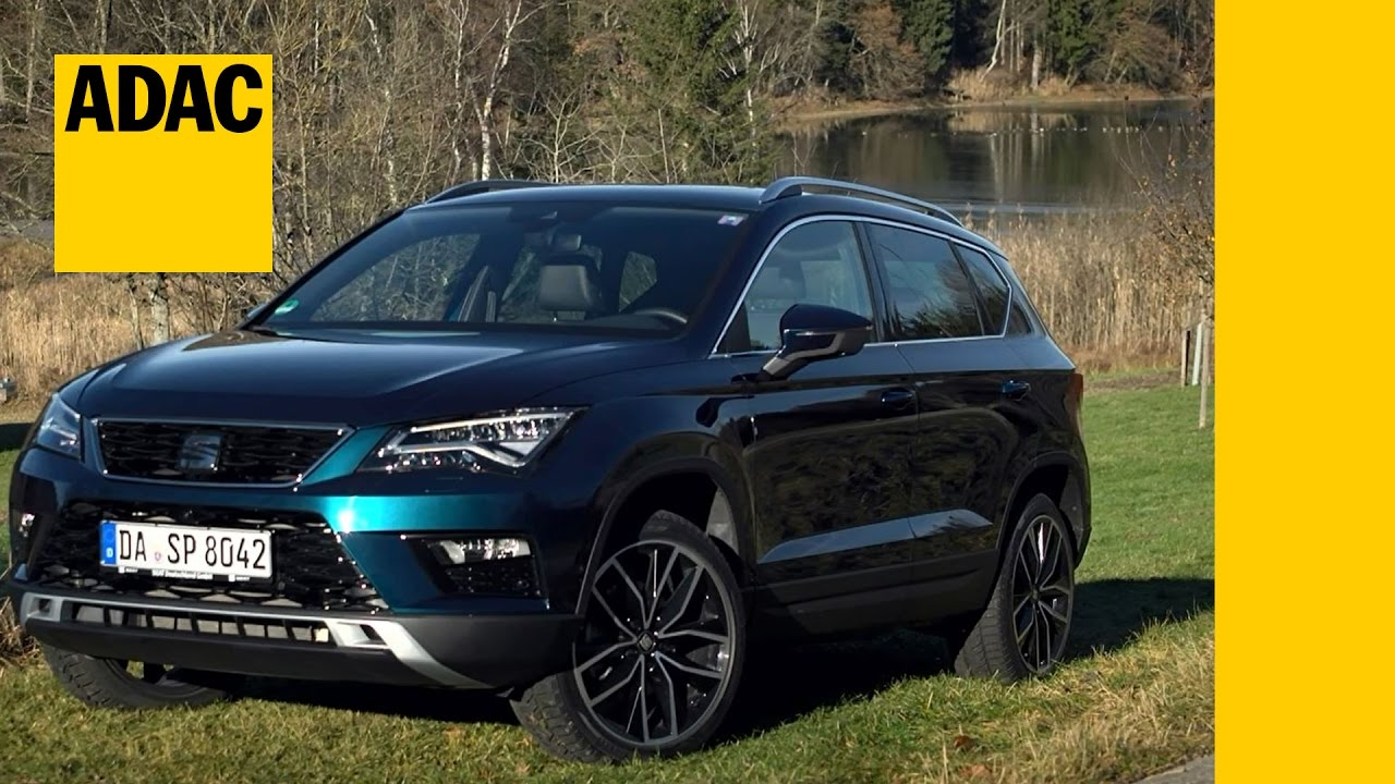 autotest seat ateca 2 0 tdi i adac 2017 youtube. Black Bedroom Furniture Sets. Home Design Ideas