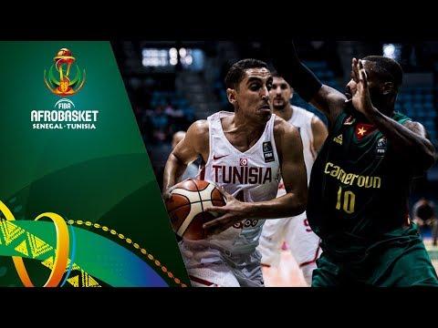 Tunisia v Cameroon - Highlights - FIBA AfroBasket 2017