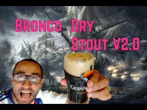 Bronco Receita: Dry Stout