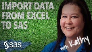 SAS Tutorial | How to import data from Excel to SAS