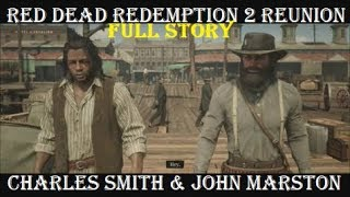 RDR2 Reunion: John Marston & Charles Smith (All Cutscenes) Epilogue Story