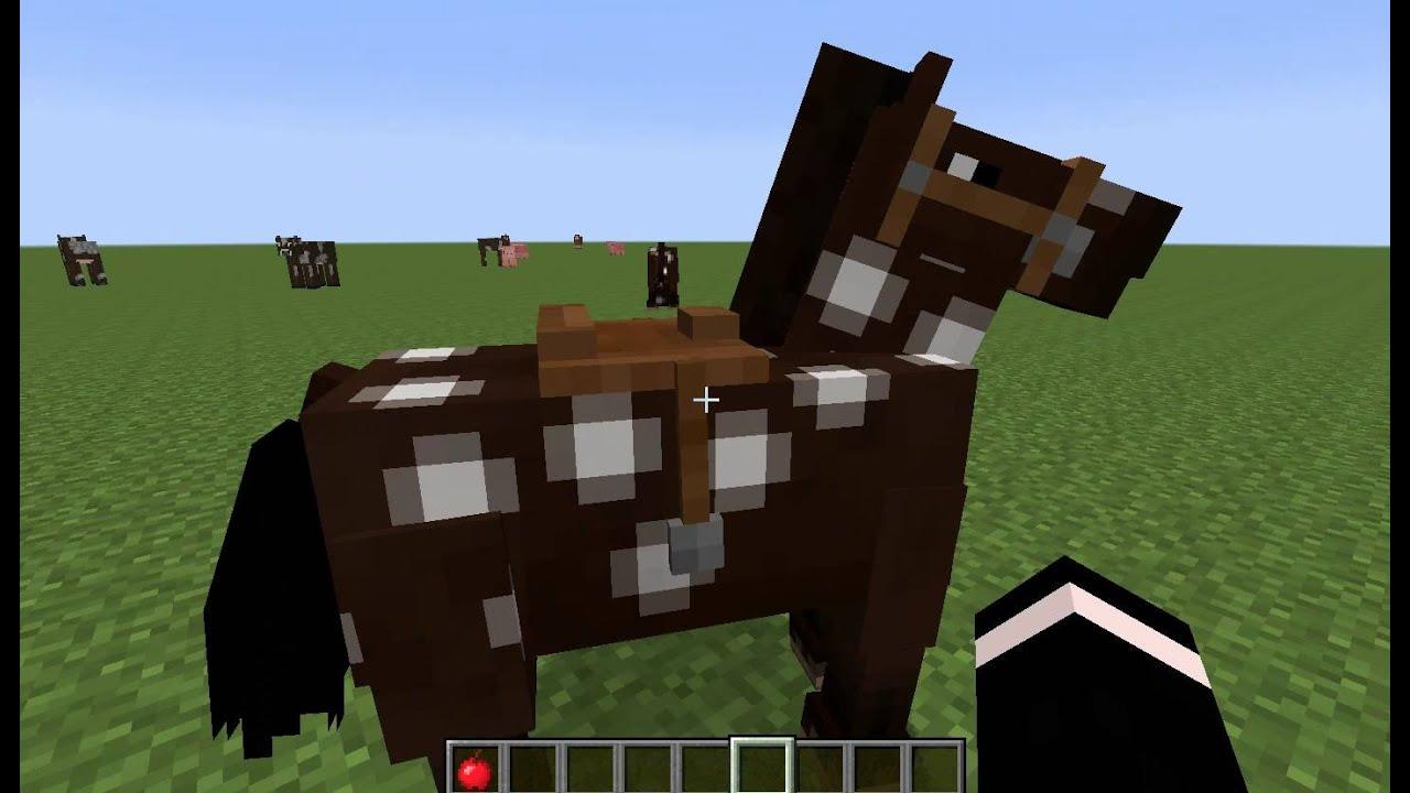 как приручить лошадь в майнкрафте 1.8.9 #9