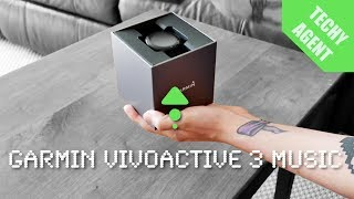 Unboxing the NEW Garmin Vivoactive 3 Music