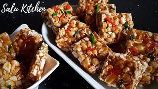 How to make Peanut Candy    Ruchikaramaaya Kappalandi Mittai    Salu Kitchen
