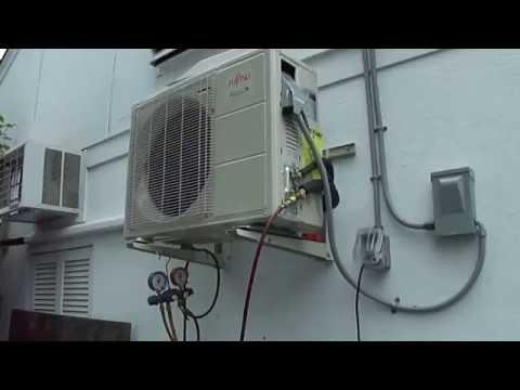 NJ Mini Split AC install Service 973-777-2932 Fujitsu Repair