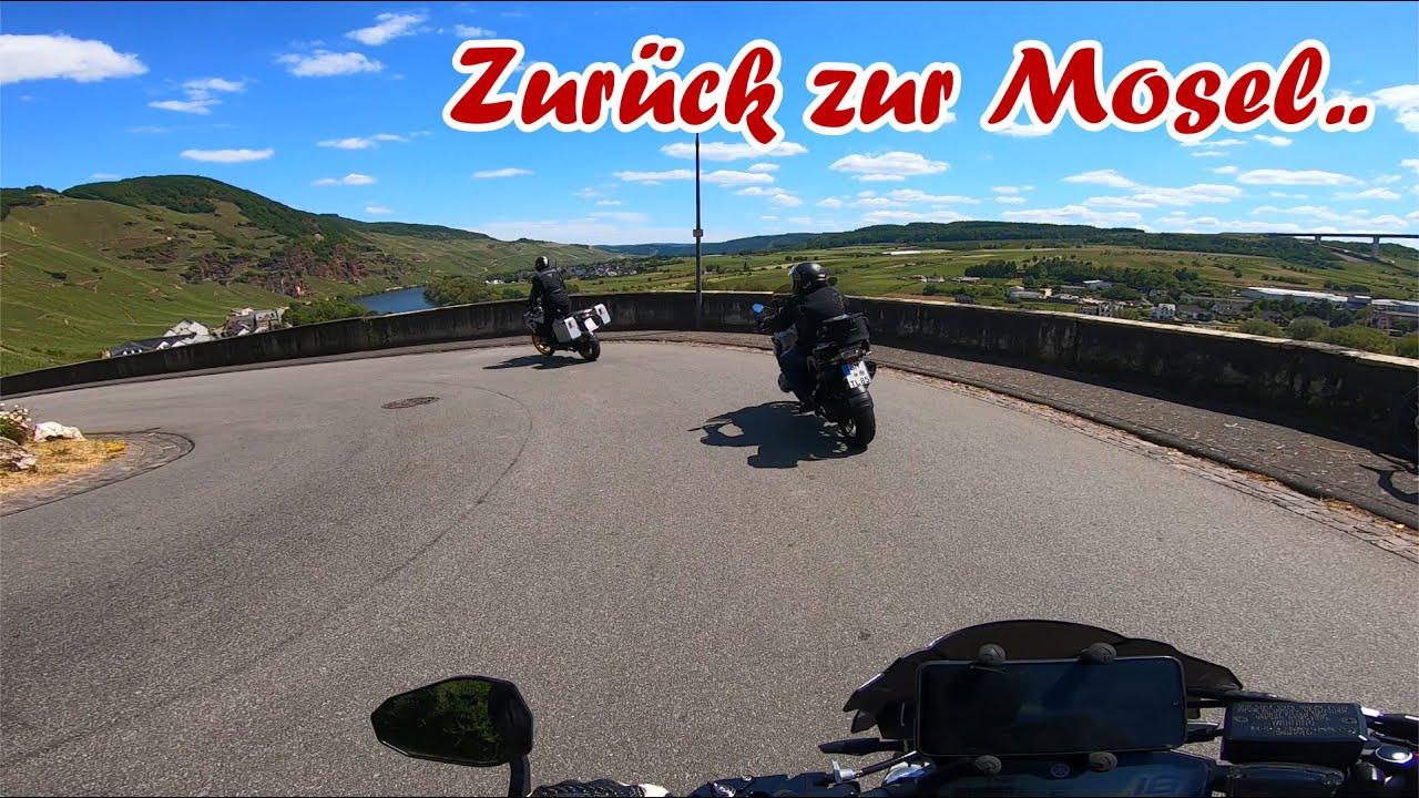 Motorradtour zum Rhein und zur Mosel | Sena-Mesh-Vlog | Teil 3
