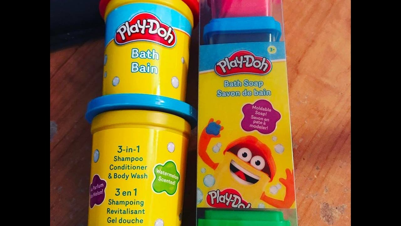 Play Doh Bath Line from Townley Girl Review - YouTube