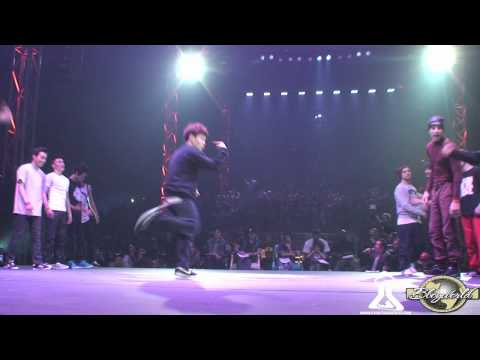 FUSION MC vs UNIVERSO BBOY TEAM | CREW BATTLE | CHELLES BATTLE PRO 2012