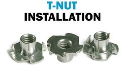 Installing T-Nuts In Wood | Fasteners101