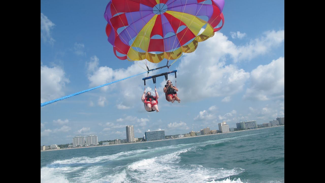 Adventures In Parasailing With My Bestie Myrtle Beach You