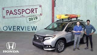 2019 Honda Passport: Overview & Exterior