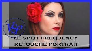 le split frequency pour une retouche portrait