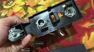 Доработка задних фонарей ВАЗ 2115