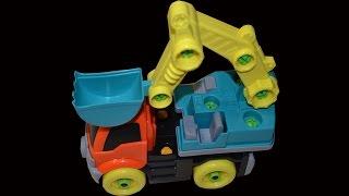 Детский конструктор экскаватор(Детский конструктор экскаватор. Учимся разбирать и собирать детский конструктор экскаватор. We learn to sort..., 2015-01-16T21:21:48.000Z)