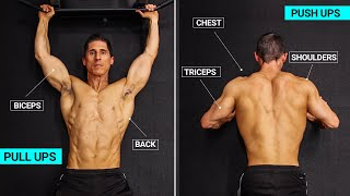 Home Pull-Up | Push-Up Workout (ALL LEVELS!)
