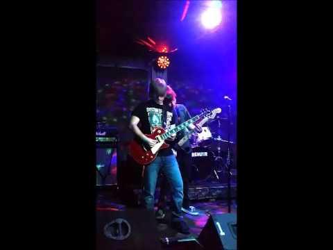 Corey Dotson's Guitar Solo at the Jam Spot in Albuquerque
