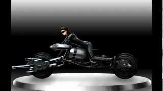 Catwoman on Batcycle - TDKR Version (Speedpainting)
