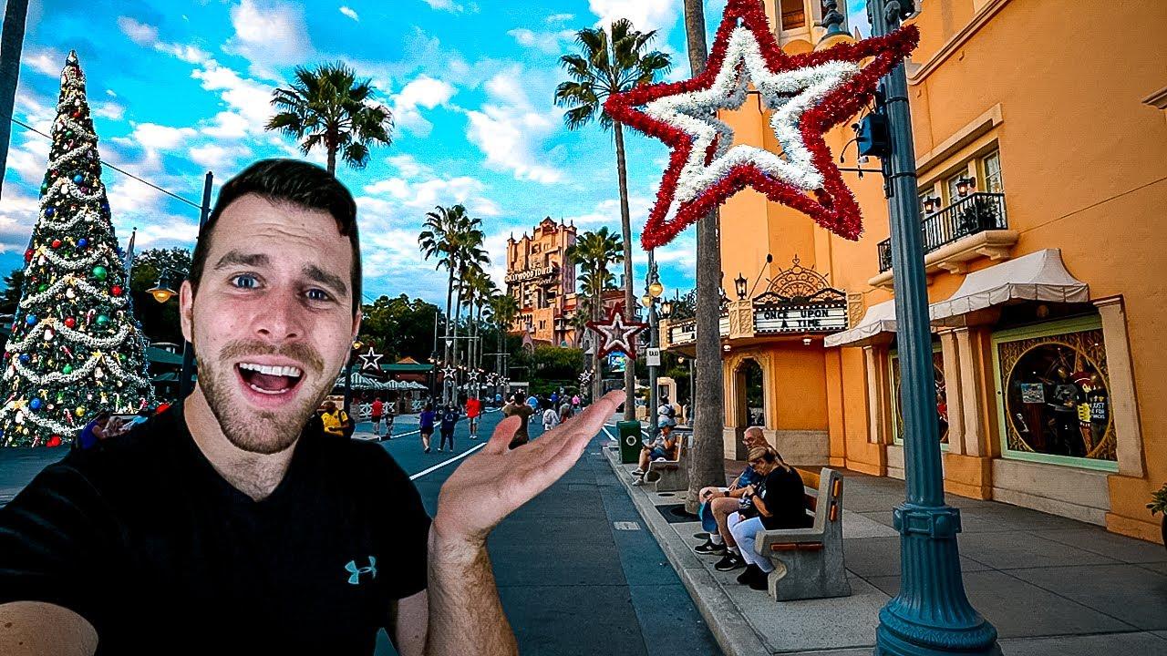 It's Christmas In Disney World ALREADY!