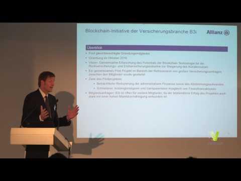 Blockchain Revolution@Ventum #4 Keynote Oliver Volk   Kooperation in der Versicherungswirtschaft
