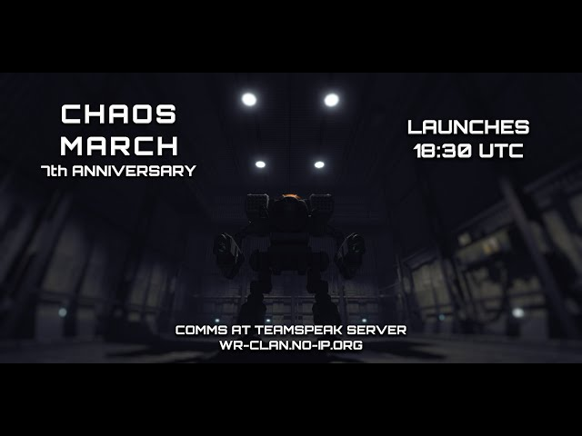 Mechwarrior Living Legends Chaos March 7th Anniversary