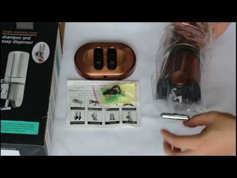 Angelbubbles 350ML Soap Dispenser Bronze Surface (From customers video review)
