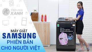Máy giặt Samsung Inverter 14 kg WA14N6780CV/SV - Phiên bản đặc biệt cho người Việt
