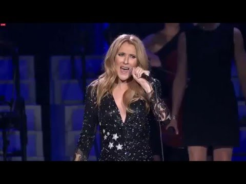 Celine Dion One More Look At You- Tribute to Rene Angelil Febuary 23, 2016