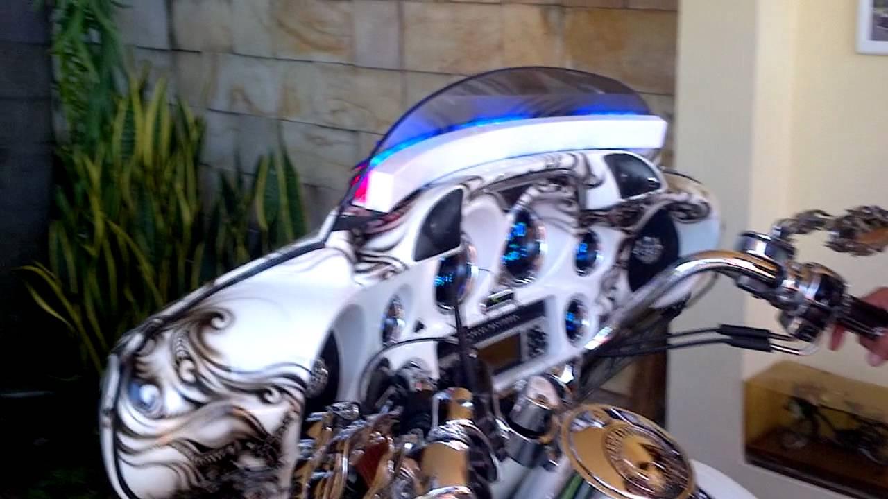 Windshield Led Strobe For Harley Davidson Electra Ultra