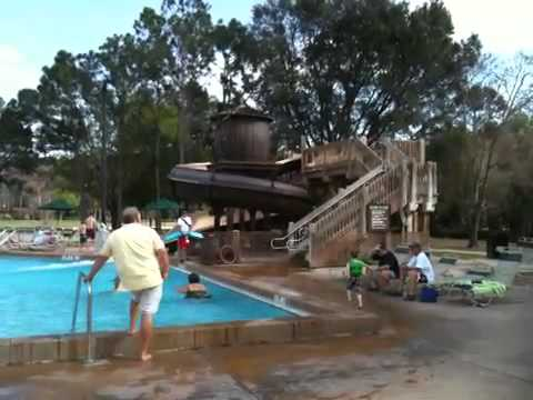 Fort Wilderness Pool Area Youtube