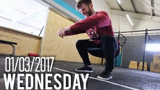 LOWER BODY WARM-UP ROUTINE FOR LIFTING | CROSSFIT OPEN 17.2 PREDICTION