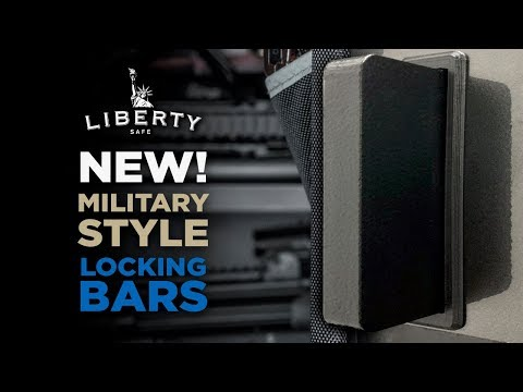 Liberty Safes New Military Style Locking Bars