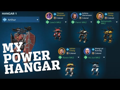 🔴 War Robots - What Is Adrian Running In His POWER Hangar On IOS? | WR Live Stream Gameplay