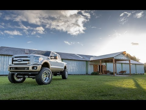 2011 Ford F-250 BDS Suspension 8-inch Coilover Lift Install