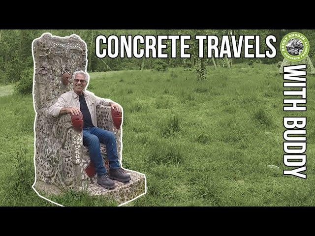 Concrete Travels with Buddy 2x04 -  Solid Rock Concrete Design & some Crazy Concrete Creations