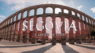 SEGOVIA 4k | La ciudad PATRIMONIO de la HUMANIDAD