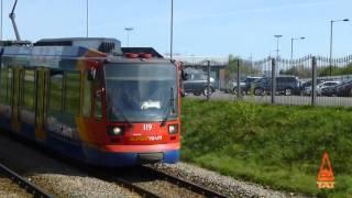 Sheffield Supertram: Gleadless Townend - Halfway