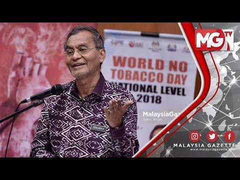 RM3 Billion Kerajaan Jimat Jika Rakyat Tidak Merokok – Dr Dzulkefly Ahmad
