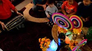 2017  diwali celebrations in London on Canada at tul bahadur gurung's house