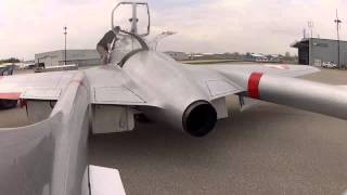 Jet Aircraft Museum's Vampire - First Engine Runs!