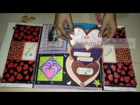 Handmade Birthday Card For Best Friend Youtube