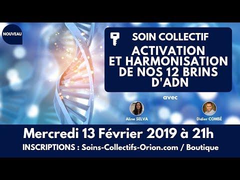 [BANDE-ANNONCE] Soin Collectif Activation / Harmonisation de nos 12 brins d'ADN le 13/02/2019 à 21h