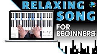Piano Beginners: learn this RELAXING beautiful SONG (6 minutes!) screenshot 1