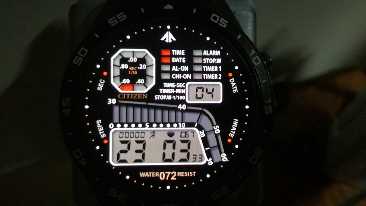 Watch Face - Citizen D060 AR by Al Rod
