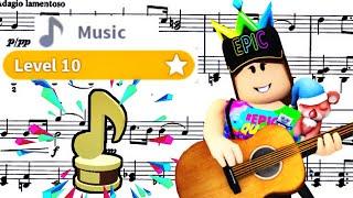 I MAXED OUT MY MUSIC SKILL! :O Roblox | Bloxburg